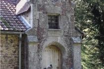 Domaine de Keravel - entrée de l'atelier de Paul Chardin