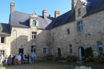 Manoir de Kermorus-Cour intérieure