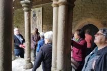 Visite du cloître de Tréguier
