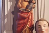 Chapelle de la Trinité- la Vierge  à l'enfant