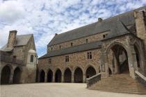 La cour intérieure du château de Vitré