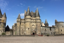 L'imposant château de Vitré