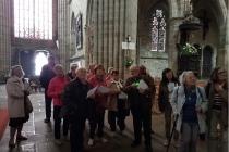 Visite de la cathédrale de Tréguier