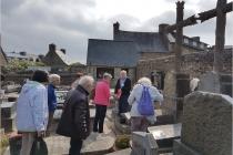 Visite du cimetière de Tréguier